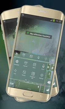 Sky reflection Keypad Layout apk screenshot