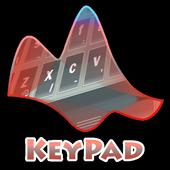 Sinking moon Keypad Layout icon