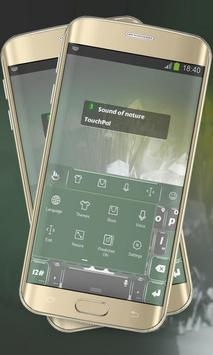 Sound of nature Keypad Layout apk screenshot
