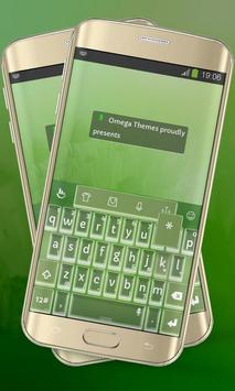 Spider Lime Keypad Layout poster