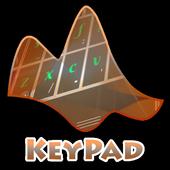 Sweet Colors Keypad Layout icon