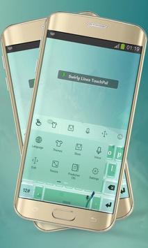 Swirly Lines Keypad Layout screenshot 5