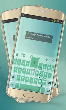 Swirly Lines Keypad Layout apk screenshot