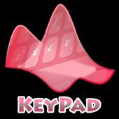 Strawberry sweet Keypad Layout icon