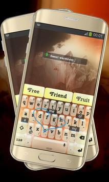 Summer Strike Keypad Layout apk screenshot
