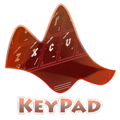 Surgery Red Keypad Layout icon