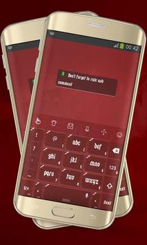 Surgery Red Keypad Layout screenshot 3