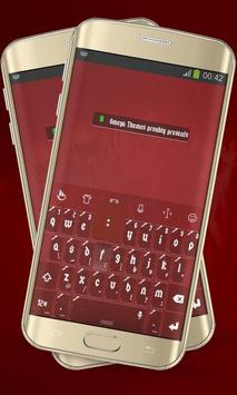 Surgery Red Keypad Layout poster