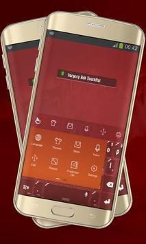 Surgery Red Keypad Layout screenshot 1