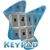 Blue Division Keypad Cover icon