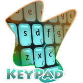 Blue Scene Keypad Cover icon