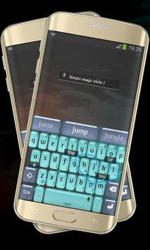 Blue Scene Keypad Cover apk screenshot