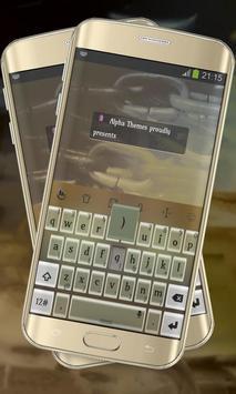 Brown Shine Keypad Cover poster