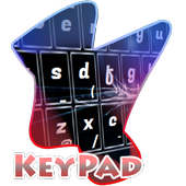 Cracked Glass Black Keypad icon