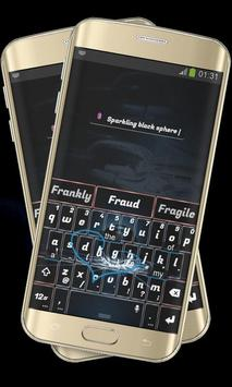 Cracked Glass Black Keypad screenshot 2