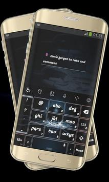 Cracked Glass Black Keypad screenshot 3