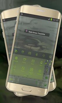 Dark Green Keypad Cover apk screenshot