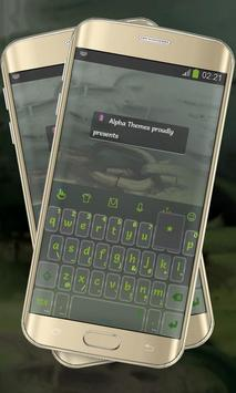 Dark Green Keypad Cover poster