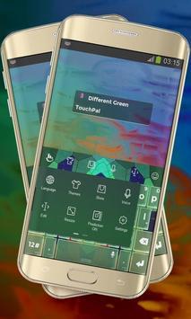 Different Green Keypad Cover apk screenshot