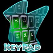 Evil Green Eye Keypad Cover icon