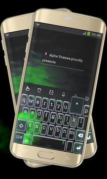 Evil Green Eye Keypad Cover poster