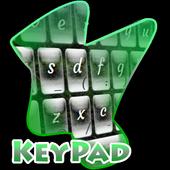 Foggy Woods Keypad Cover icon