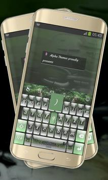 Foggy Woods Keypad Cover poster