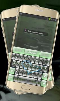 Foggy Woods Keypad Cover apk screenshot
