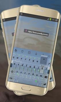 Forest Line Keypad Cover poster