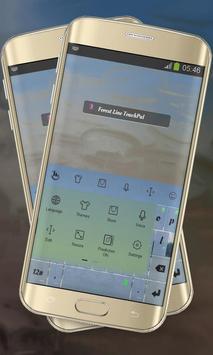Forest Line Keypad Cover screenshot 1
