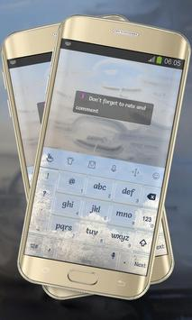 Frozen Trees Keypad Cover apk screenshot
