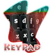 Fuzzy Lines Keypad Cover icon