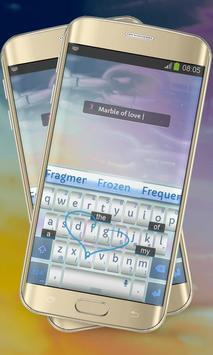 Marble of love Keypad Cover apk screenshot