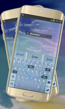Musical leafs Keypad Cover apk screenshot