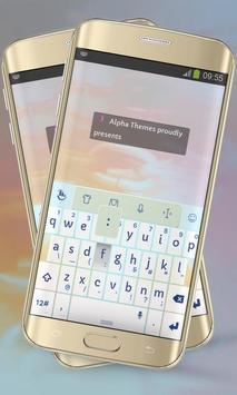 Oleander petals Keypad Cover apk screenshot