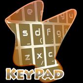 Orange Vegetation Keypad Cover icon