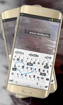 Paper White Keypad Cover apk screenshot