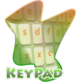 Peachy day Keypad Cover icon