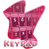Pink Lines Keypad Cover icon