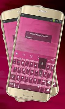 Pink Lines Keypad Cover poster