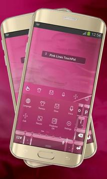 Pink Lines Keypad Cover screenshot 1