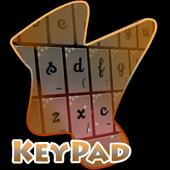 Red Black Keypad Cover icon