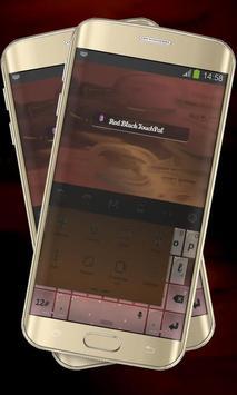 Red Black Keypad Cover apk screenshot