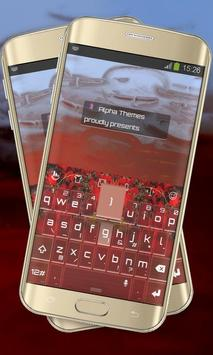 Red Rivers Keypad Cover poster