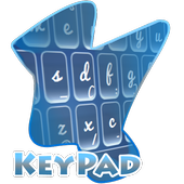 Sharp Blue Keypad Cover icon
