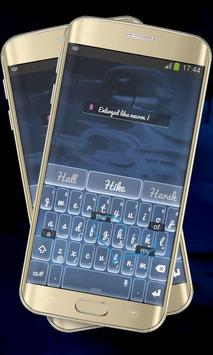 Sharp Blue Keypad Cover screenshot 6