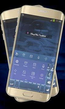 Sharp Blue Keypad Cover apk screenshot