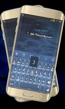 Sharp Blue Keypad Cover poster