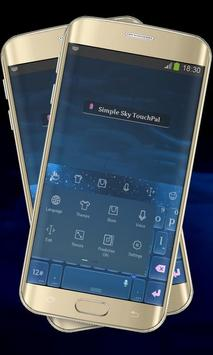 Simple Sky Keypad Cover apk screenshot