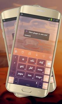 Soaring Free Keypad Cover apk screenshot